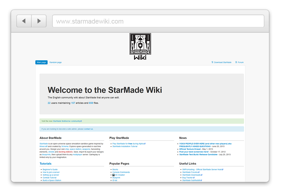 Official StarMade Wiki Screenshot